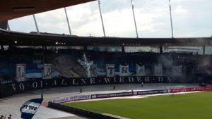 Fanclub Letzi_FCZ v FC Wohlen Suedkurve